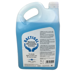 Bactigel Higienizante. 500 ml, 1L y 5L